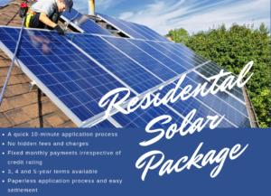 Residential Solar Finance