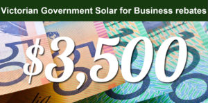 Read more about the article Victorian Government Solar for Business incentive makes the financial case for commercial solar compelling